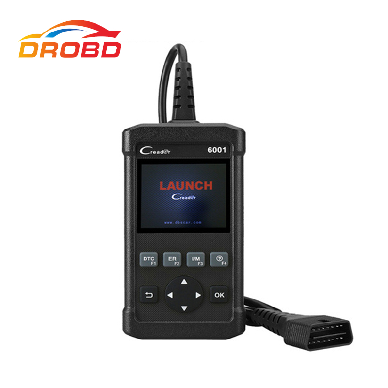 New Launch DIY Code Reader CReader 6001 CR6001 Full OBDII OBD2 functions Support O2 Sensor Test Control of the on-Board system