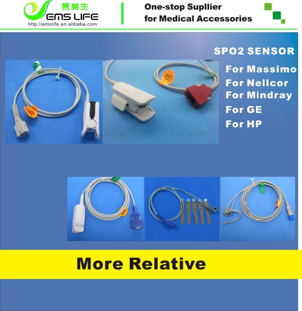 1M-lengte Adult Finger Clip compatibel voor nellcor herbruikbare - Huidverzorgingstools - Foto 3