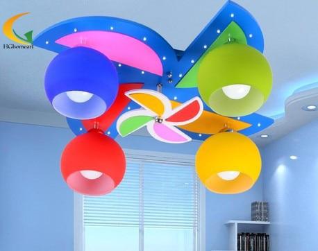 Plafoniera Bambini : Bambini plafoniere per camera da letto luce della novità
