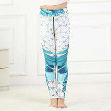 new girls leggings trousers pants digital printing high waist stretch sports pants trousers leggins autumn winter kids pants