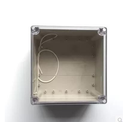 192*188*100mm Free shipping , Transparent Cover plastic electric control box , Junction Enclosure waterproof and dustproof boxes 1 piece free shipping plastic enclosure for wall mount amplifier case waterproof plastic junction box 110 65 28mm