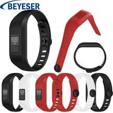 цена на Silicone Watchstrap Replacement Wristband For Garmin Vivofit 3 Watch band Wrist strap Soft For Garmin Vivofit 3 sport Watchband