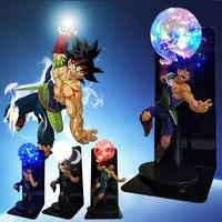 Dragon Ball Z Burdock Action Figure LED Light Dragon ball Lamp Anime Goku Creative DIY Table Lamp Anime Model Collection Toys