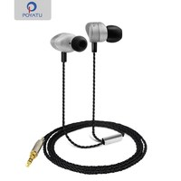 P1 Hi Res Audio Earphone Triple Balanced Music Earbuds High Definition Stereo Metal Headphone In Ear