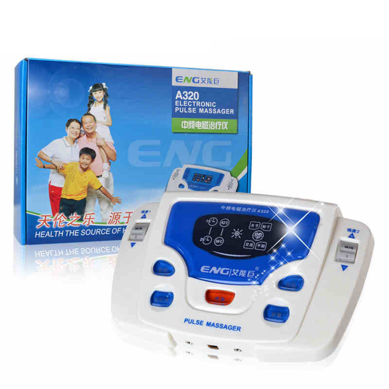 Multifunctional acupuncture meridian therapy instrument if cervical lumbar body electric massager massage apparatus pl 758 multifunctional neck therapy instrument