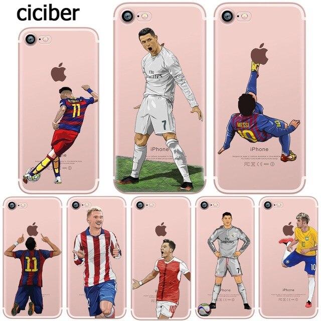 coque iphone 7 football neymar