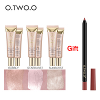 O TWO O Buy 3 Get 1 Gift Face Highlighter Primer Base Primer Contouring Concealer Shimmer