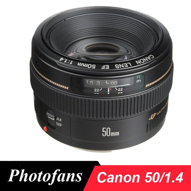 Canon 50 1.4 Obiettivo EF 50mm f/1.4 Usm
