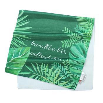 Ropa de baño nórdica hojas de palma de ducha Toalla de baño impresa Toalla de cara microfibra Victoria mujeres playa Toalla de baño paño de secado