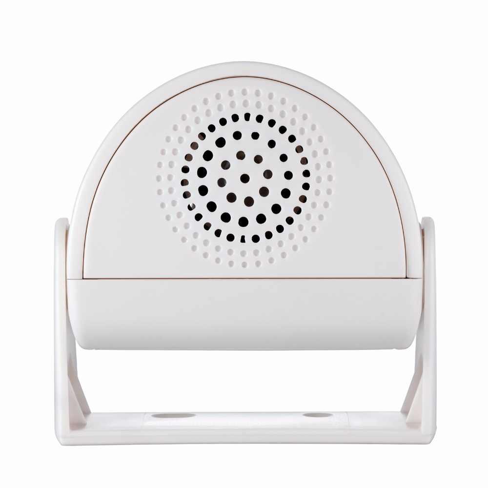 FUERS Wireless DoorBell เกสต์ยินดีต้อนรับ CHIME ALARM PIR Motion Sensor สำหรับ Shop ENTRY บริษัท Security Doorbell เครื่องตรวจจับอินฟราเรด