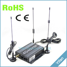 R220 Series 12V 24V vehicle car 4g router wifi bus with sim card slot and external SMA antenna