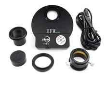 ZWO EFWmini 5-отверстие Электрический фильтр колеса (подходит для 1,25-дюймовый фильтр или 31 мм выполненные фильтр)