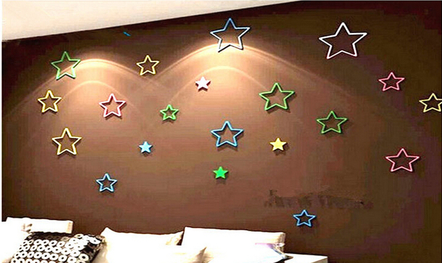 2015 1 unidades color interior baño casa decoración de la pared poster estrellas creativo estéreo desmontable.jpg 640x640.jpg