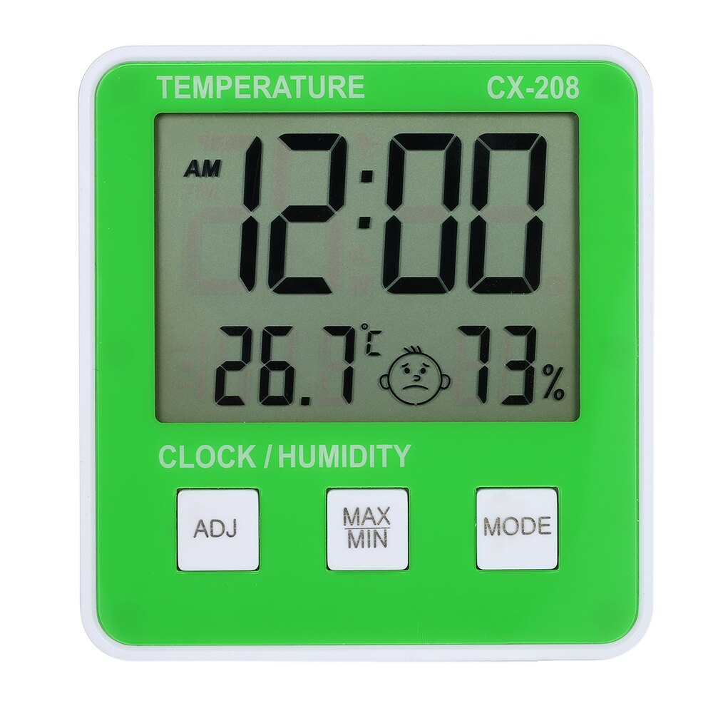 Digital LCD Indoor// Outdoor Thermometer Hygrometer Temperature Humidity Meter GH