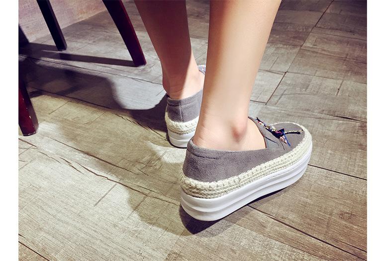 Big Size Women Platform Loafers Crystal Genuine Leather High Quality Pointed Toe Flats Shoes For Women Slipony Women Rhinestone  (17)