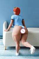 Настоящая кукла 163 см (5ft4 ) Толстая попка секс кукла с большими сиськами настоящая lifesize женская для мужчин с металлическим скелетом 3 отверст