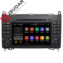 Wholesales! Android 7.1.1! 7 Inch Car DVD Player For Mercedes/Benz/Sprinter/B200/B-class/W245/B170/W209/W169 Wifi GPS Radio