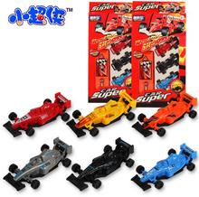 3pcs/box F1 formula one racing simulation model plastic diecasts toy vehicles with track with widow box