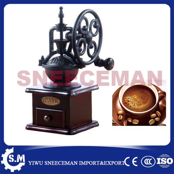 Big rocking Wheel Manual grinder Machine Hand Coffee bean grinder Home Grinder grinders machine manual coffee machine household grinder mini grinder