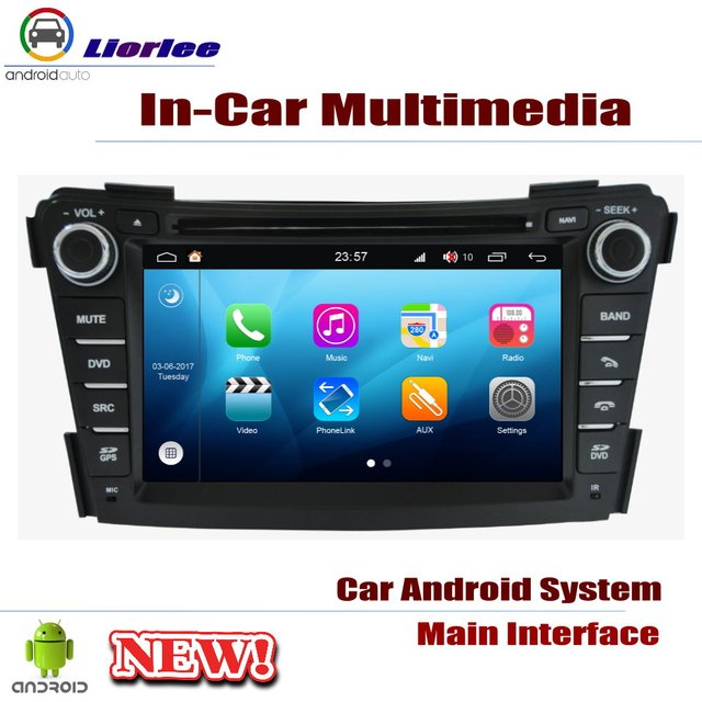 Lecteur DVD de voiture pour Hyundai i40 2011 ~ 2019 IPS écran LCD Navigation GPS système Android Radio Audio vidéo stéréo 1
