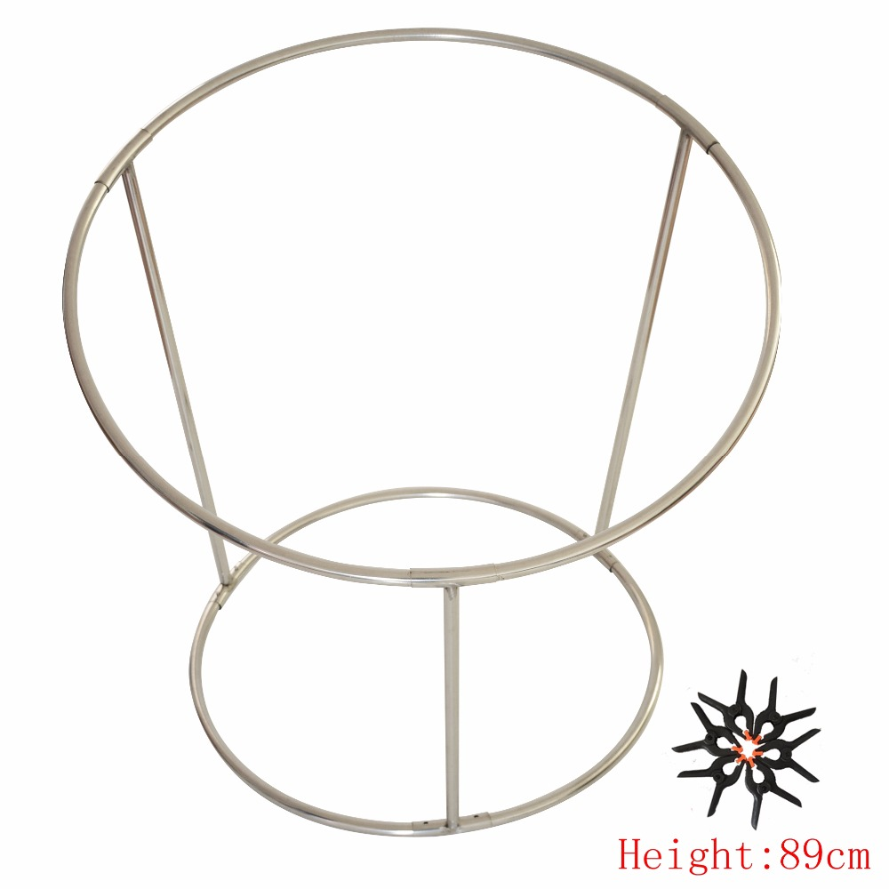 Height 89cm,Steel Newborn Photography Prop Beanbag Frame, Newborn Posing Nest Baby Photo Prop,#P2196