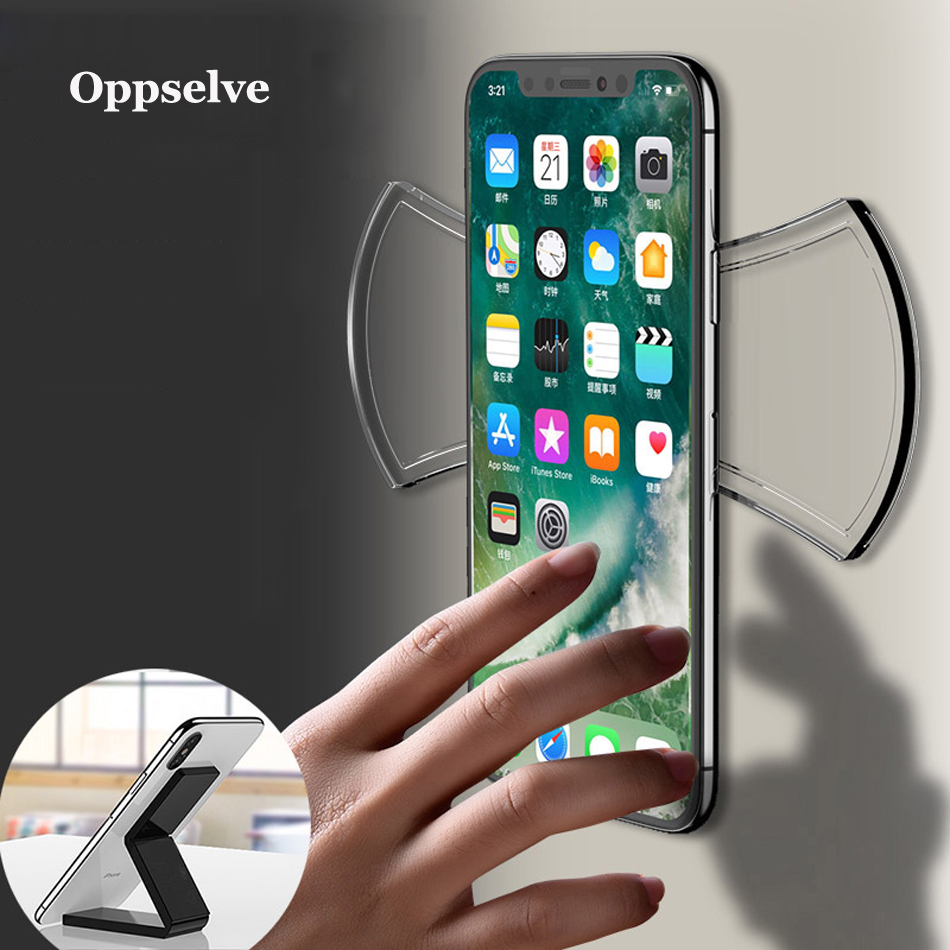 Flourish Magic Nano Rubber Car Phone Holder For iPhone X Xs Max Xr 8 Universal Desktop Sticker Gel Pad Mobile Phone Holder Stand in Phone Holders Stands from Cellphones Telecommunications