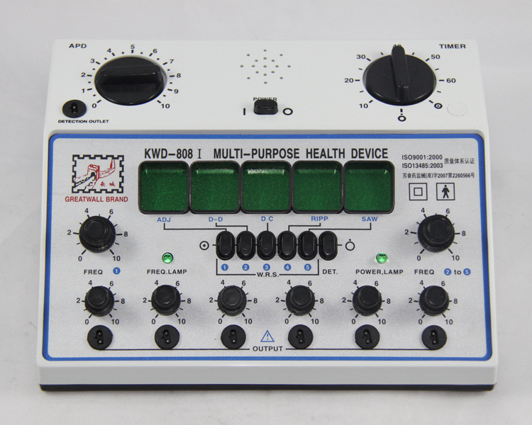 KWD808-I mesin stimulator akupunktur Great Wall / kwd 808