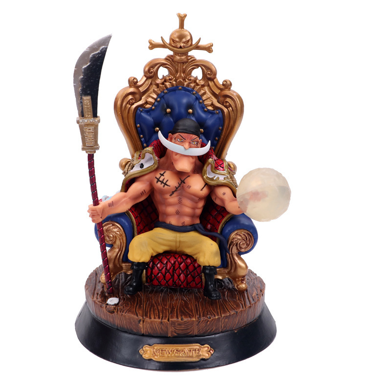 Anime One Piece 23cm White Beard Edward Newgate Action Figure PVC Collectible gift Model Toy doll juguetes hot free shipping hot best hot anime one piece action figure newgate arrogance model doll pvc action figure collection anime toy