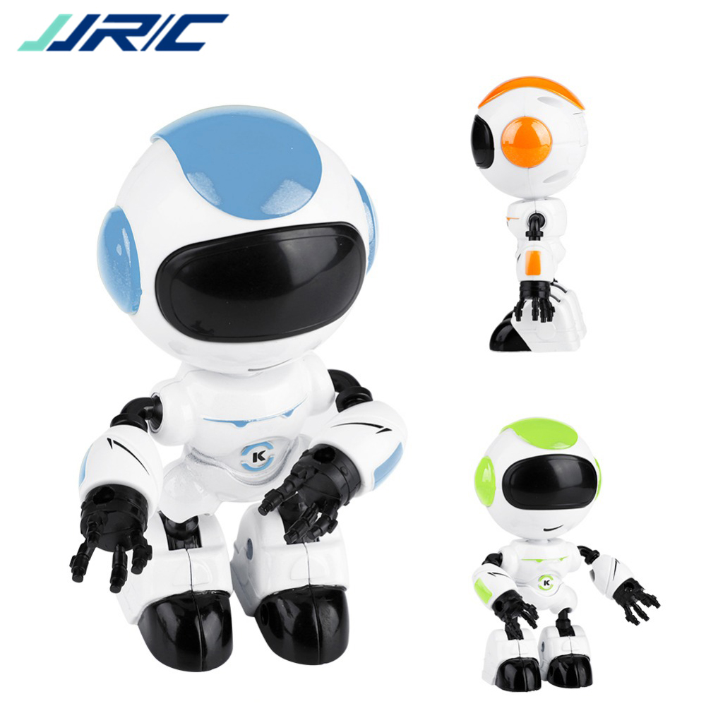 JJRC R8 Touch Control LED Eyes RC Robot Smart Intelligent Voice DIY Body Gesture Model Toy Sensing Head Interaction
