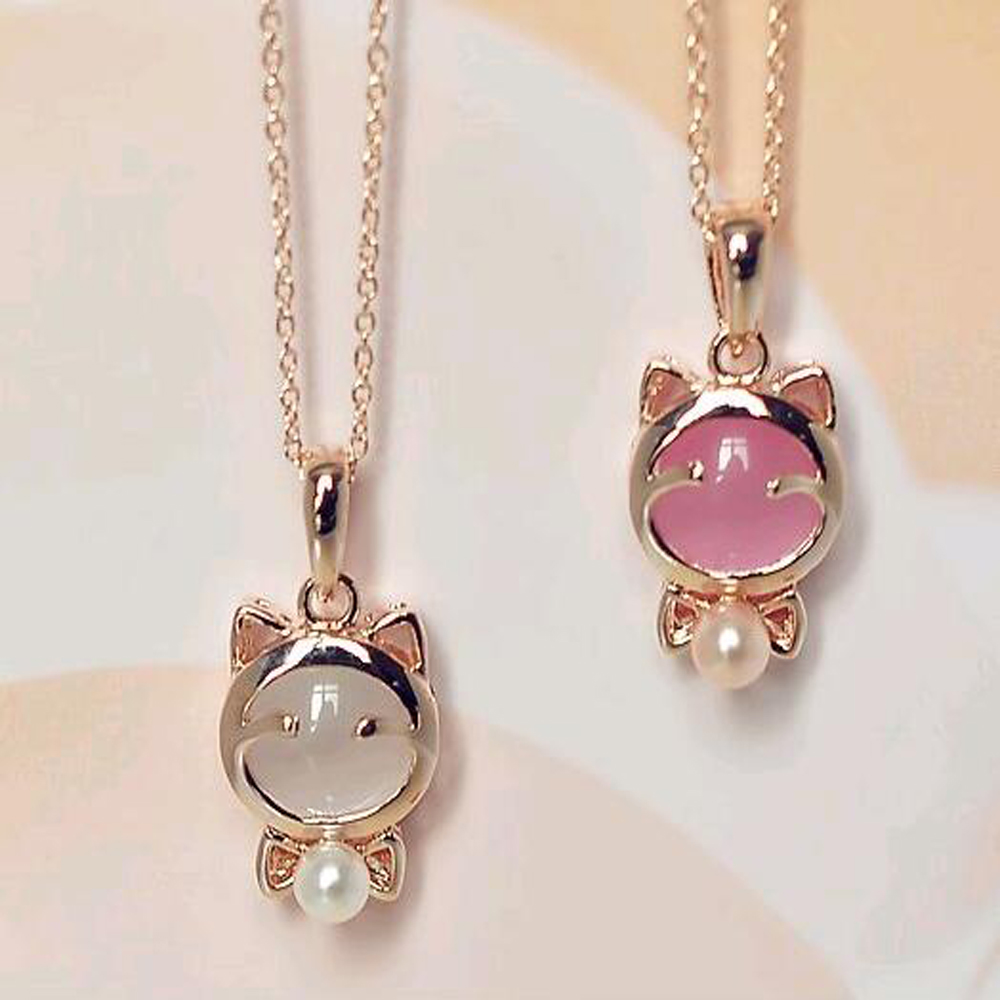 42782308f88995 FAMSHIN 2016 New wholesale plutus cat cute cat s eye collarbone chain  necklace ring earrings A three piece N117-in Jewelry Sets from Jewelry &  Accessories ...