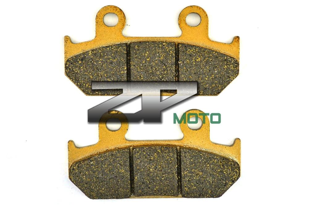 Organic Kevlar Brake Pads For CBR 250 86-87 NSR 250 RG 86 CB 350 SG/SJ 86-90 CBR 400 (NC23) 86-87 Front Brand New High Quality 1999 2000 arctic cat 250 2x4 kevlar carbon front brake pads