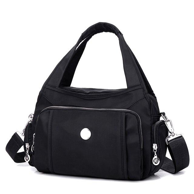 2017 New fashion Female Shoulder Big Handbag Fashion Girls waterproof nylon Bags Women Package Crossbody Bag Handbags