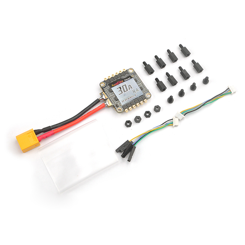 Best Deal Racerstar Shot30A ESC 30A 30amp 3-6S 4 in 1 BLHeli_S BB2 Dshot600 Integrated Current Voltage Sensor(China (Mainland))