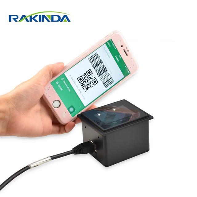 RAKINDA RD4500-20 1D 2D Fixed Mount Barcode Scanner Module For Access Control /Kiosk /Locker/Self-service Terminal 1