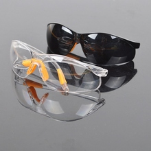 Clear Anti impact Factory Lab Outdoor Work Eye Protective Safety Goggles Glasses Anti dust Lightweight Spectacles