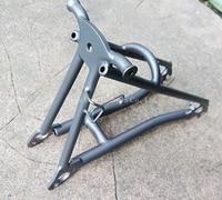 Titanium TC4 Bike Front Fork E Folding Suspension Loop Hasp Light Weight 5 8g Pc For
