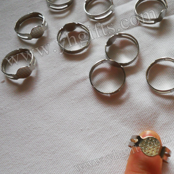 200PCS/LOT,12x7mm,Metal Silver Plated Ring Setting,Ring Holder,DIY Rings,Finger Ring,Fashion Decoration,Craft Material,Wholesale