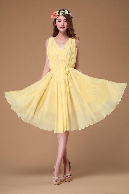 Yelliw Short Dresses for Beach Weddings