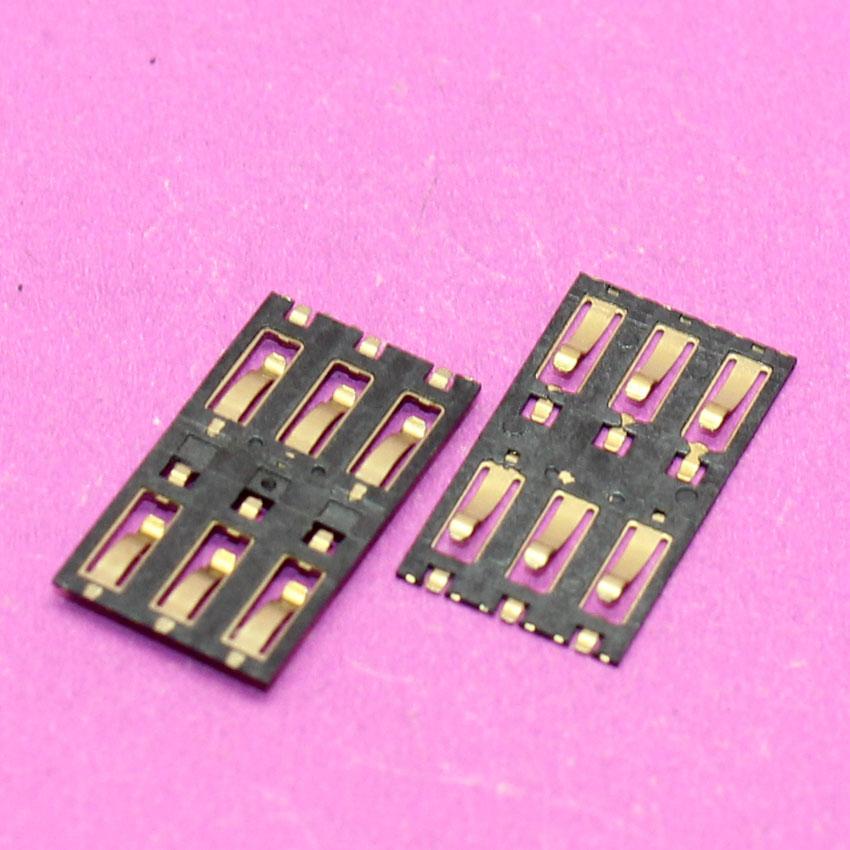 YuXi New sim card socket tray slot card adapters for Xiaomi3 M3 Mi3 cell phone sim card reader connector.