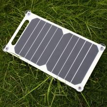 Cewaal 5V 5W Solar Panel Bank Solar Power Charging Panel Charger USB For Mobile Smart Phone