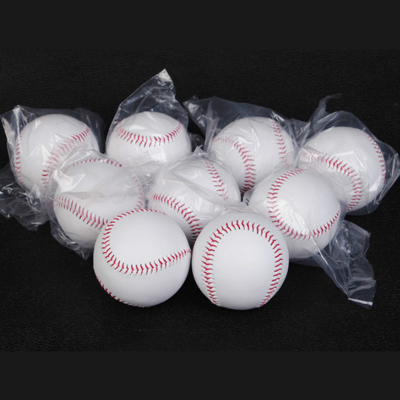 7.2 Cm Student Training Baseball 9inch Soft Baseball Primary School Student Safety Softball Solid Soft Baseball