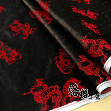 Woven damask hanfu formal dress antique kimono pillow advanced cos clothes brocade dobby fabric chinese dragon