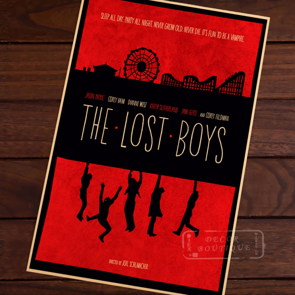 The Lost Boys Propaganda Vintage Kraft Decorative Poster