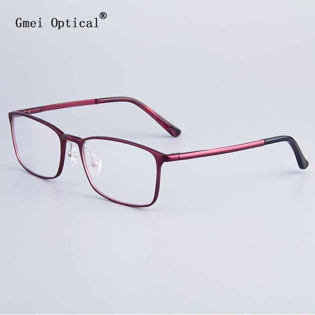 Voguish Women Hydronalium Round Full-Rim Glasses Frames Brand Designer Men Frame Eyeglasses Frames With Spring Hinge On Legs