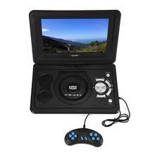 FORNORM bolsa 13,9 pulgadas 110-240 V HD TV reproductor de DVD portátil 800*480 de resolución 16:9 pantalla LCD para UE Plug reproductores de DVD 2018