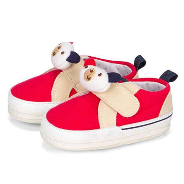 Zapatos de Suela blanda Primer Caminante Del Bebé Antideslizante 2017 Nuevo Animal Print De Algodón de Moda de Alta Calidad Zapatos de Bebé Recién Nacido 70A1076