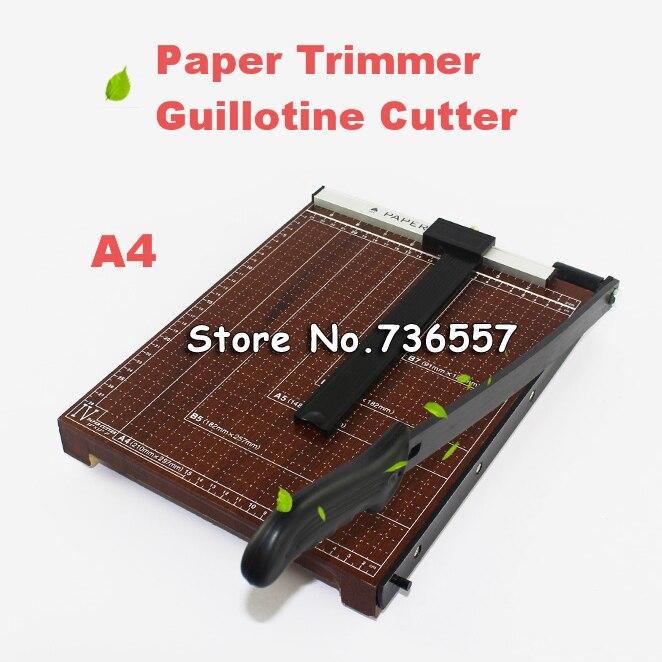 Pro A4 Paper Card Trimmer Guillotine Photo Cutter Office Paper Cutting Tool Paper Card DIY Scrapbook Scissors Clippers