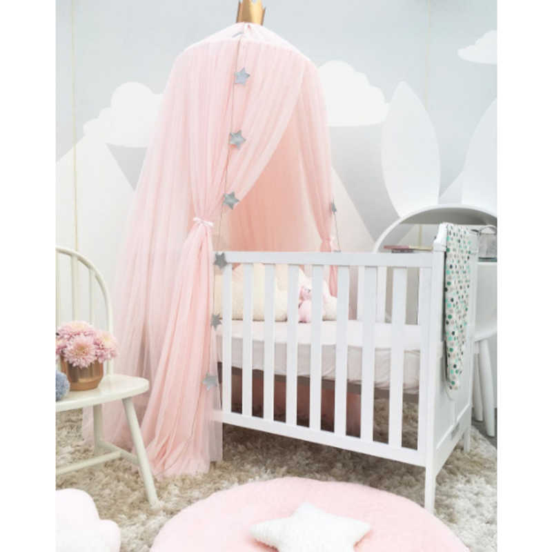 Baby Luifel Tent Klamboe Bed Gordijn Baby Crib Netten Cot Hung Dome Meisje Prinses Kinderen Spelen Tent Kinderkamer decoratie