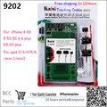 16 в 1 Kaisi K-9202 K 9201 Профессиональный Активации Батареи и Зарядки доска для iPhone 6 S 6 Plus 5S 5 4S 4 Для ipad2/3/4/5/6/mini