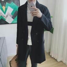 Зимние Куртки и Пальто Лайнер бизнес случайные мужские Пальто Костюм Воротник Теплое пальто одежда